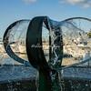 Water scultpture, Seattle