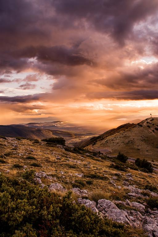 L'orageux Mont Lachens