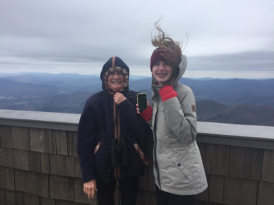 2018_03_26_Brasstown Bald_Mimi and Kathleen - 1