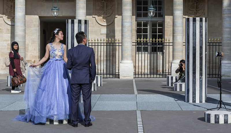 Palais Royal, Paris, 2016.