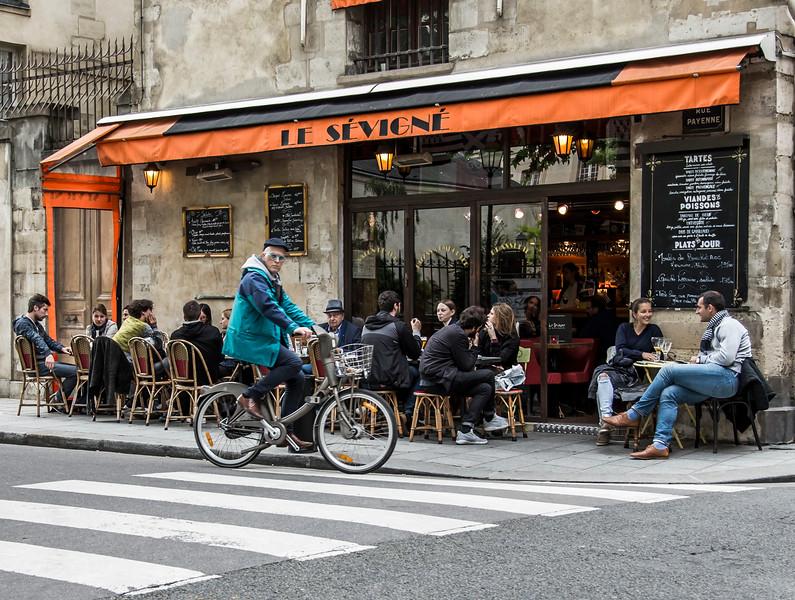 Marais, Paris, 2016