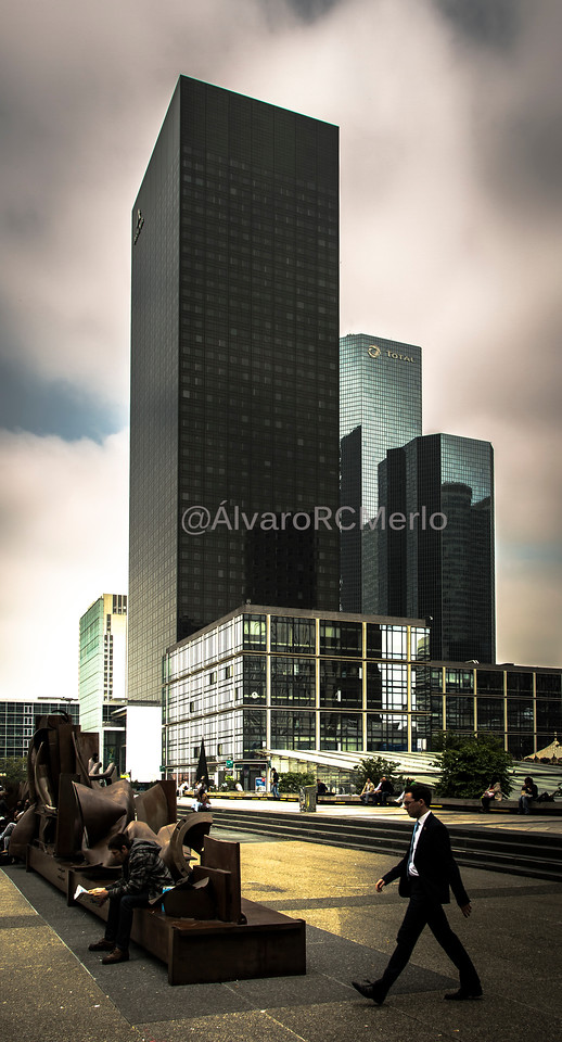 La Défense, Paris, 2016