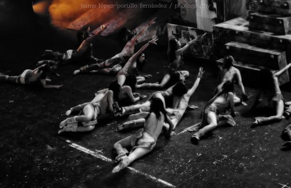 Adoración - de AztecaSpirit, producción de Arte Escena Crisol y Cultura UDG