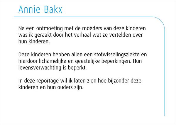 Annie Bakx 2014