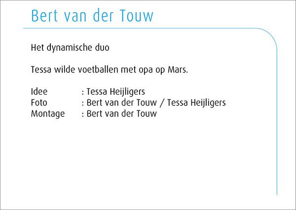 Bert van der Touw 2014