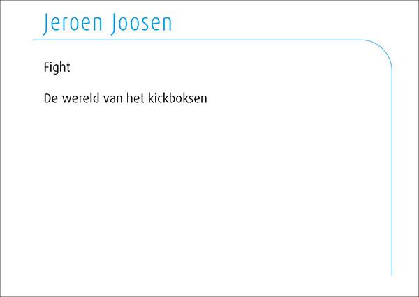 Jeroen Joosen 2014