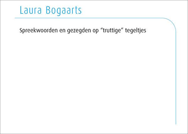 Laura Bogaarts 2014