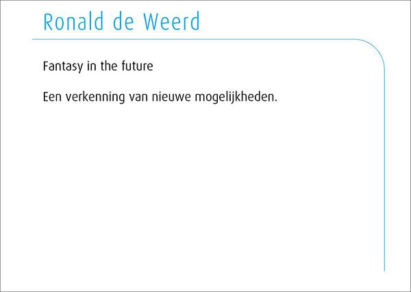 Ronald de Weerd 2014