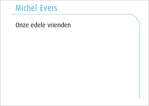 Michel Evers 2016