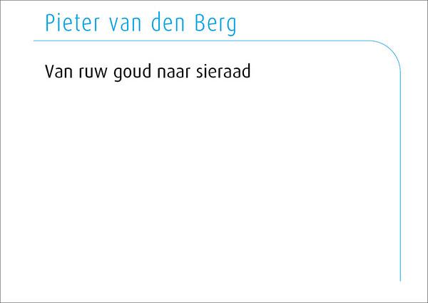Pieter van den Berg 2016