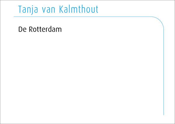 Tanja van Kalmthout 2016