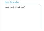 Theo Barendse
