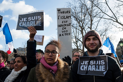 Marche Charlie Hebdo, 11 janvier 2015.