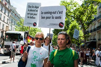 Marche des Fiertés, 27 juin 2015.