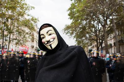 Manifestation contre la Loi Travail El Khomeri, 15 septembre 2016.