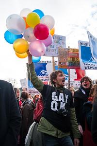 Manifestation pour le Mariage pour Tous, 27 janvier 2013.