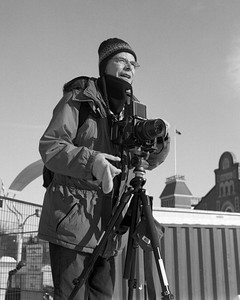 OTTAWA, ONT.: JANUARY 25, 2012 -- Richard Perron in Ottawa, Ontario, January 25, 2012.  Photo by Garth Gullekson. Yashica-Mat EM (1964),  Kodak Tri-X 400, DD-X for 7:30 mins