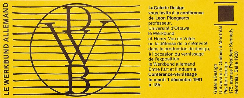Le Werkbund allemand, entre l'art et l'industrie_ 8182