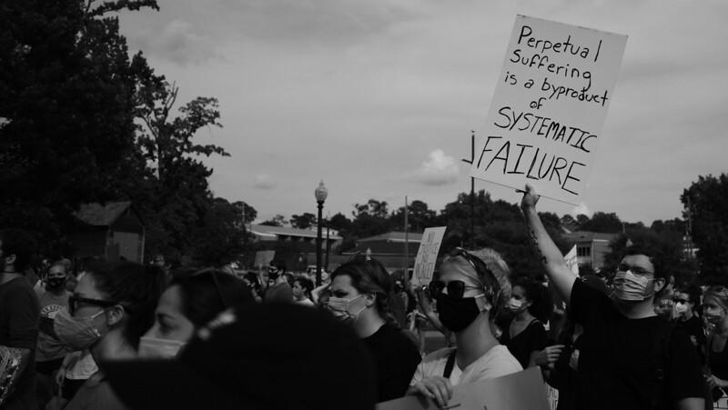 Solidarity Rally Against Injustice for George Floyd - Homewood AL - 2 June 2020
