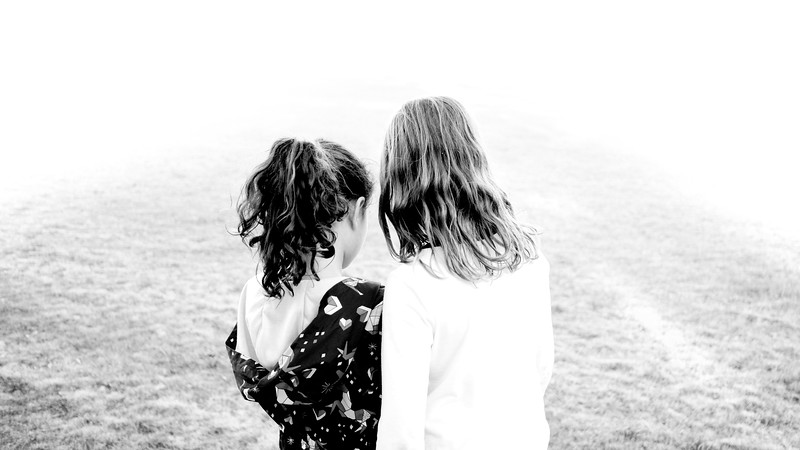 Friends :: Lyla and June