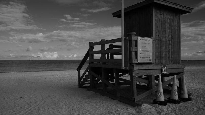 morning run and walk to Sand Key