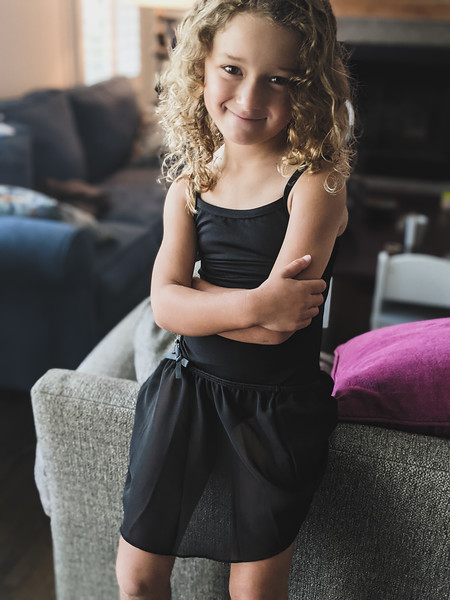 willow is ready for dance (portrait)