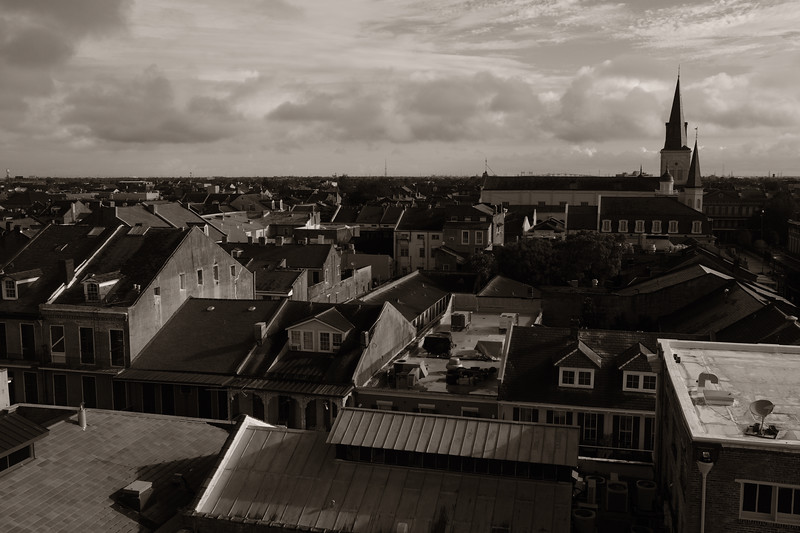 the top of french quarter - cityscape