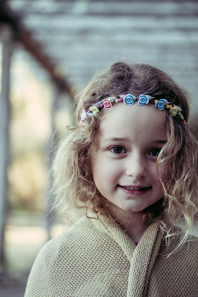 portraits of willow at botanical gardens