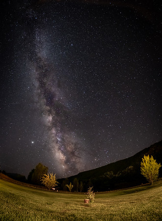 Milky Way - Carbondale, CO. August, 2020