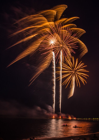 Palm Tree Fireworks