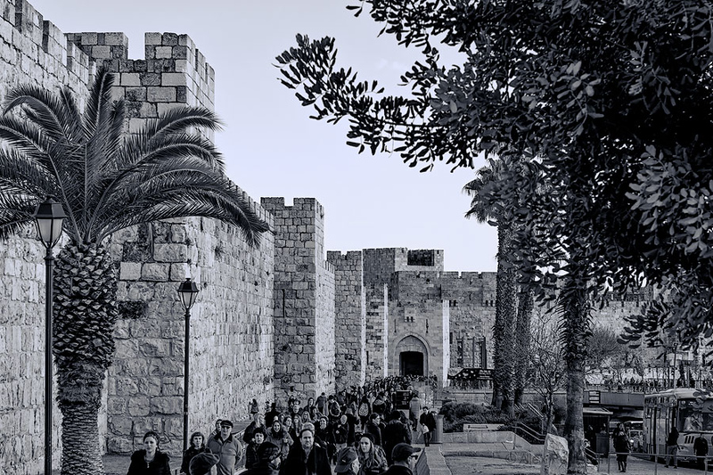 Jaffa Gate - Old Jerusalem