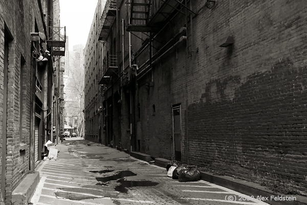 Alley<br /> Pioneer Square - Seattle
