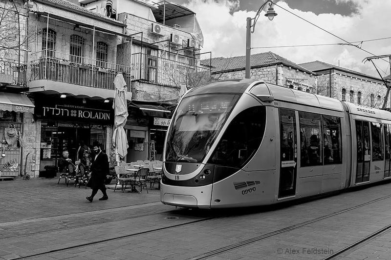 Jaffa Street tram<br /> Jerusalem