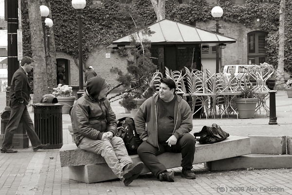 Friends<br /> Pioneer Square - Seattle