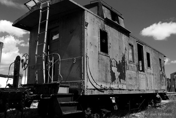 Old caboose<br /> Miami