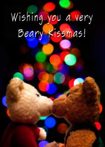 Beary Kissmas