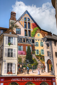 In the town of Chartres, France.