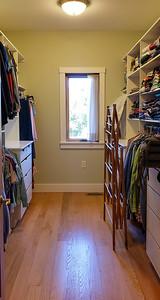 Master BR Walk-In Closet