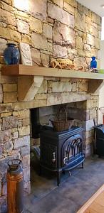 Jotul Scandinavian wood stove