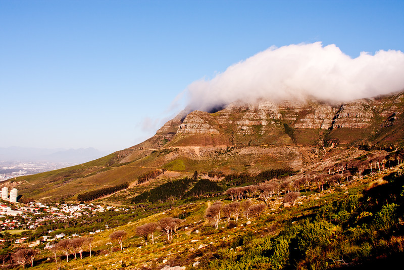Cloud Over Table Top Mountain