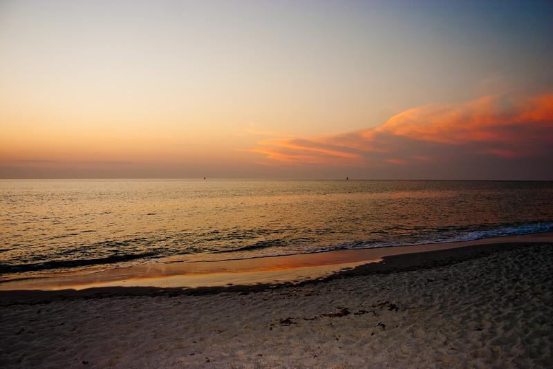 Sundown on the Beach in Florida