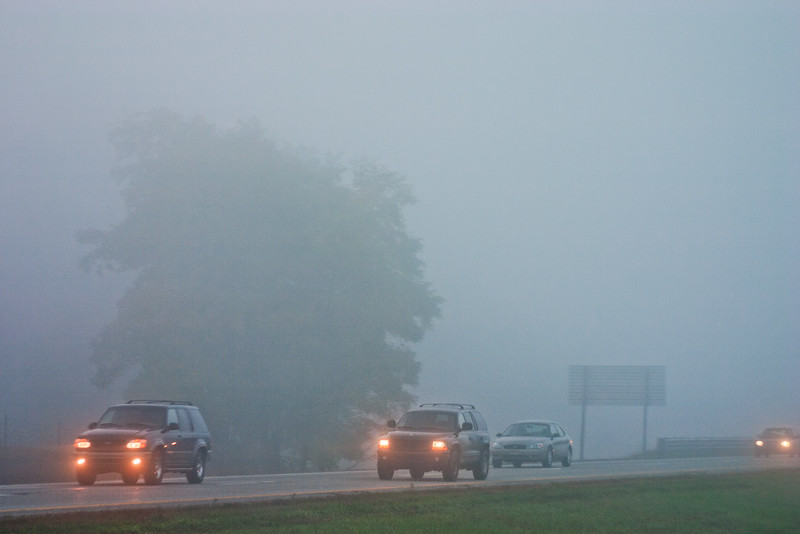 Fog and Traffic in Michigan