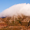 Clouds Over Mountain in South Africa