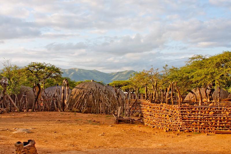 Sunset in Zulu Land