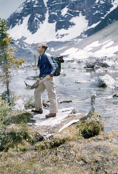 1958 David Baral in Banff and Lake Louise (Alberta)