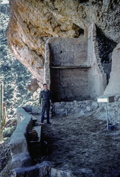 1959 March - Montezuma Castle National Monument  near the town of Camp Verde, Arizona