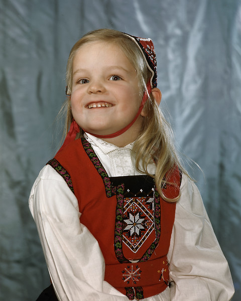 Evelyn, age 4 or 5 years