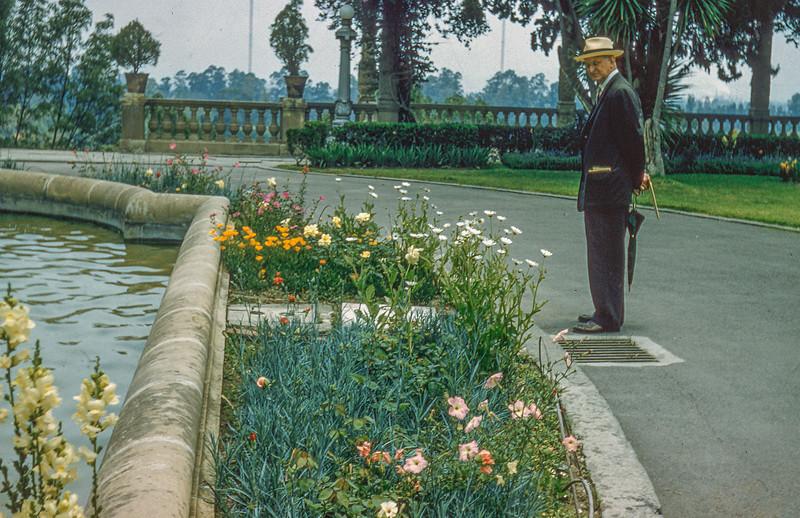 1958 Mr HF Baral in Guadalajara, Mexico