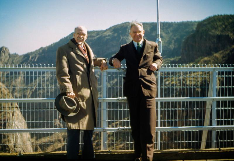 1951 (est) Colorado - Mr Goodrich & Mr HF Baral