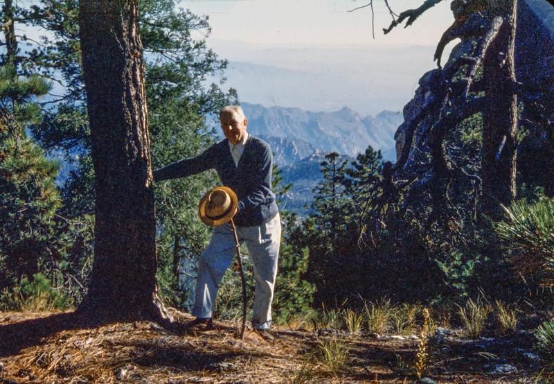 1958 (est) Mount Lemmon scenes. Film: Anscochrome.